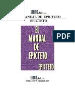 Epicteto - El Manual de Epicteto