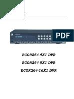 ECOR264X1 Manual