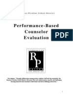 performance-based counselor evaluation