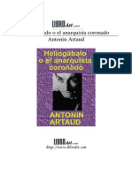 Artaud, Antonin - Heliogabalo o El Anarquista Coronado