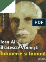 Bratescu-Voinesti - Intuneric Si Lumina (Aprecieri)