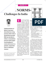 Basel Norms Implementation in India