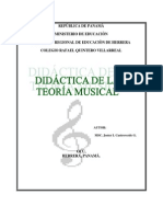 didactica-teoria para todos los grados