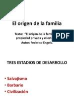 Presentación origenes de la familia