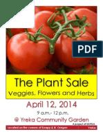 New April Plant Sale