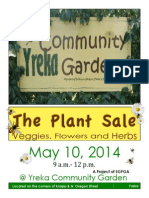 New May Plant Sale