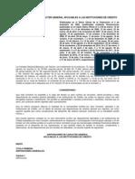 Disposiciones de carácter general aplicables a las instituciones de crédito (Circular Única de Bancos)