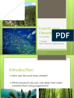 forests and fisheries ppt 1