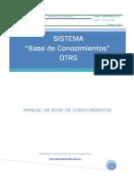 Manual de Base de Conocimientos