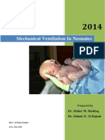 Mechanical Ventilation in Neonates