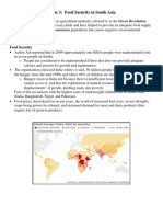 food security in south asia info page