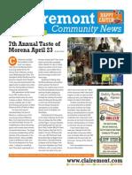 Clairemont Community News - April 2014