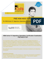 FREE NISM MOCK TEST - NISM Series VI Depository Operations Certification Examination Mock Test Free by PrepCafe