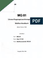 """D.(Luft)T.6081"" MG81 Teil 1-3 (1944)"