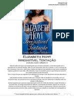 Elizabeth Hoyt - Lenda dos Quatro Soldados 01 - Irresistível Tentação(Talionis)
