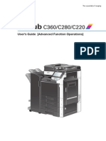 Manual advanced biz-hub 220