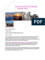 Single Women Travel Greek Islands Aegean Tour