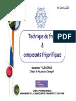 Techniques Du Froid Et Composants Frigorifiques