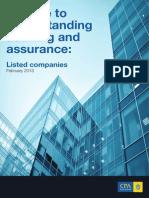 Guide Understanding Audit Assurance