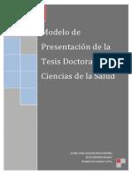Modelo de Presentacion de Tesis Doctoral en Ccias Salud1