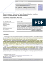 Sensorless Speed Detection of Squirrel-cage Induction Machines Using Stator Neutral Point Voltage Harmonics