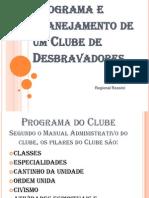 Programa e Planejamento de Um Clube de Desbravadores