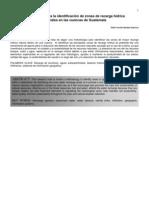 Metodologia Para La Identificacion de Zonas de Recarga Hidrica Naturales en Las Cuencas de Guatemala