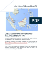 Top 6 Theories for Missing Malaysian Flight 370