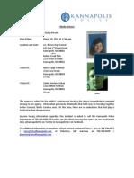 Missing Person - Coleman/Sochan Media Release