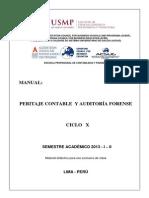 Manual Peritaje Contable y Auditoria Forense