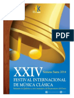 Reseña XXIV Festival Internacional de Música Clásica de Santander