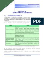 Capítulo 7 Estructuras de Contención