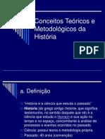 1 Conceitos Teoricos e Metodologicos Da Historia
