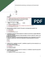 Grile Contabilitate Financiara - PROFA