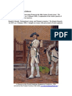 """French Troops and Female Followers  René Chartrand, """"Notes Concerning Women in the 18th Century French Army,"""" The Brigade Dispatch, vol. XXV, no. 3 (Summer 1995), 2 (explanation of the relative paucity of women with French forces in America).  Donald J. Brandt, """"Rochambeau's Army, and Women in America,"""" The Brigade Dispatch, vol. XXV, no. 3 (Summer 1995), 3 (insights on women with and around a French regiment)."""