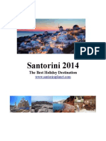 Santorini 2014 - The Best Holiday Destination