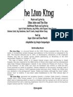 84752182 LION KING Libreto Completo 1