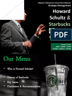 Howard Schultz and Starbucks