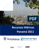 Recurso Hidricos Panama 2011
