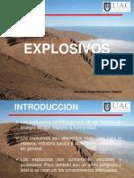 Explosivos_ Introducción,  Historia y Glosario