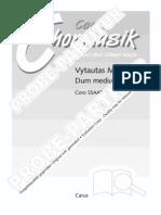 0736300x Dum Medium Silentium Myskinis