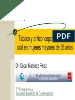3 Tabaco y Anticoncepcion Hormonal Oral en Mujeres Mayores