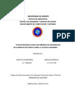 PLAN ESTRATÉGICO PARA UNA EMPRESA DE DISTRIBUCION DE ALIMENTOS DE PUERTO CABELLO  ESTADO CARABOBO (1)