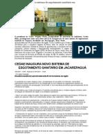 Cedae inaugura novo sistema de esgotamento sanitário em Jacarepaguá