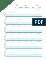 Lesson Plan March 2014