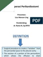Teknik Operasi Pericardial Window Lius