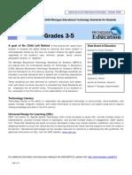 tech standards 3-5