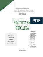 Practica en Pescalba