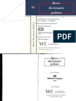 67038511 Breve Diccionario Politico