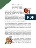 Breve Historia Del Baloncesto en Guatemala